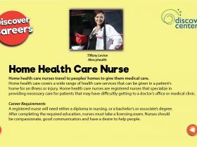 home health care nurse text