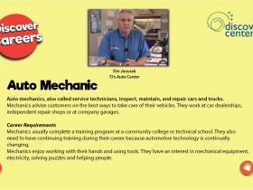 Mechanic text