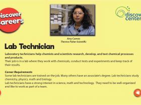 lab technician text