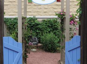 gardeb entrance