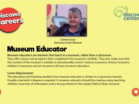 museum educator text