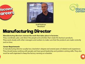 manufacturing director text