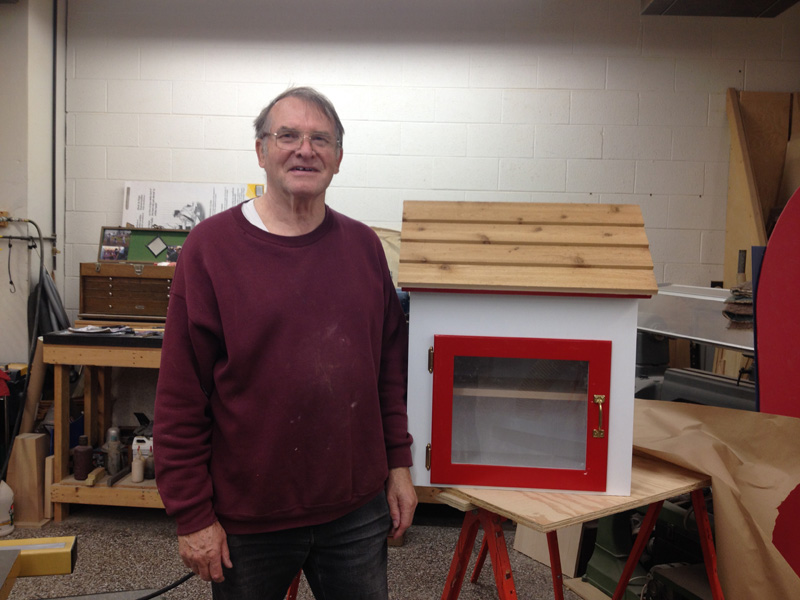Erwin & LIttle Free Library